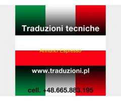Polacco traduzioni tecniche e consulenze aziendali